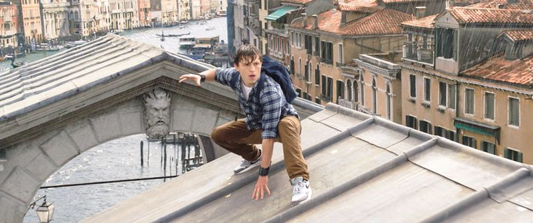 Tom Holland in 'Spider-Man: Far From Home'.