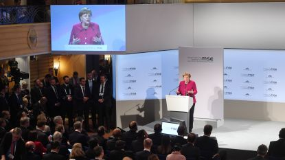 Merkel waarschuwt voor uiteenvallen internationale organisaties