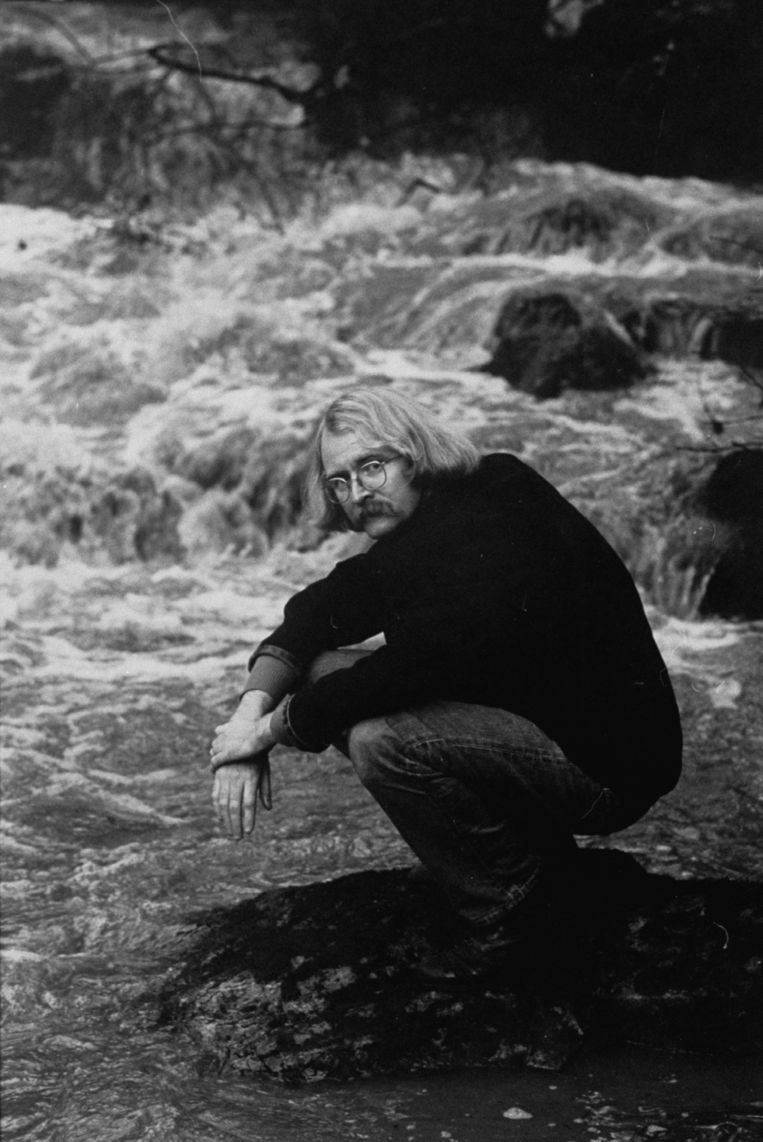 Richard Brautigan Beeld Photo by Vernon Merritt III/The LIFE Picture Collection via Getty Images