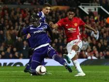 Rashford schiet Manchester United naar halve finale Europa League
