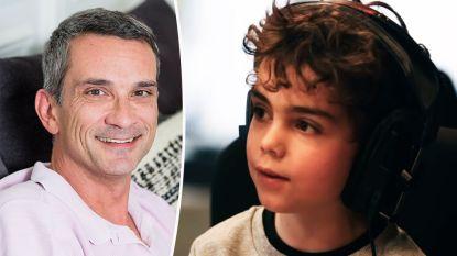 """Zoontje (5) van Christophe Lambrecht geeft kinderfuif voor 'De Warmste Week': """"Ik wil nooit meer dat er papa's zijn waarvan het hart stopt met kloppen"""""""