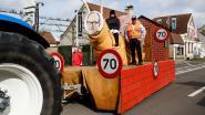 Gezellige carnavalsstoet hekelt snelheidsbeperking van minister Weyts