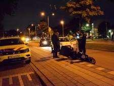 Ongeval met twee auto's en een scooter in Arnhem
