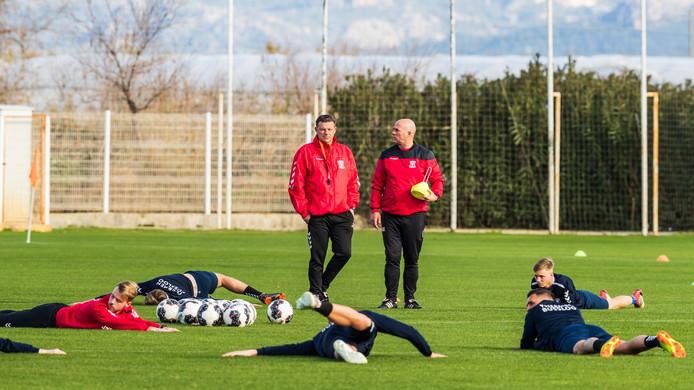 John Stegeman en assistent trainer Marco Heering