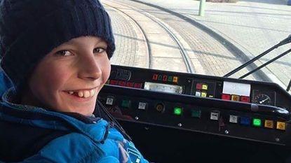 Tramfanaat Andreas (14) beboet voor 'zwartrijden'