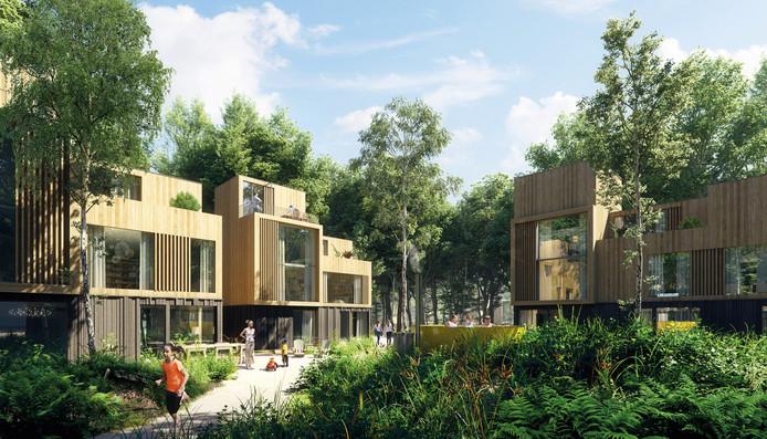 Toekomstige woningen in Het Dorp in  Arnhem