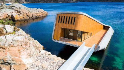 Binnenkijken in het grootste onderwaterrestaurant ter wereld