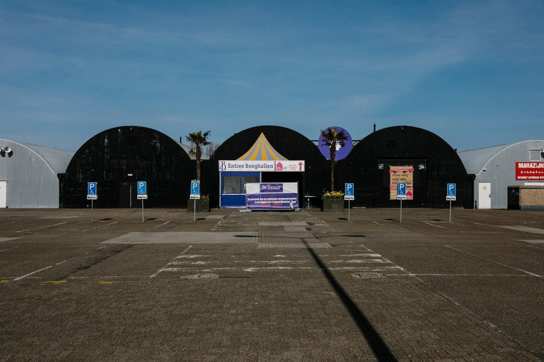 De Bazaar van Beverwijk is dicht vanwege de coronacrisis.