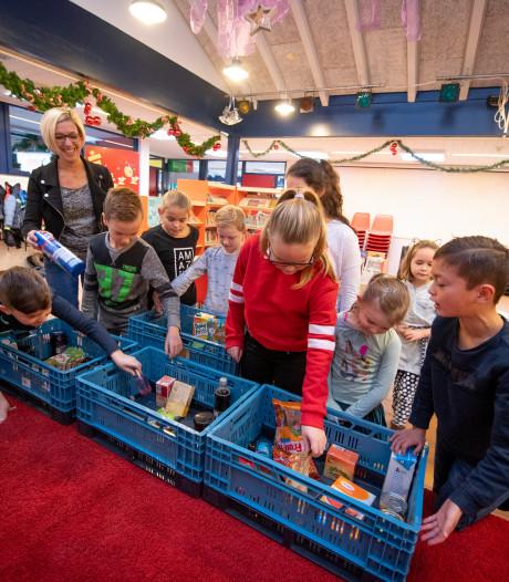 Inzamelingsactie Voedselbank wordt traditie bij St. Antonius