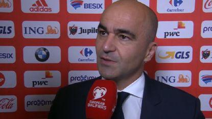 """Roberto Martínez: """"Hans Vanaken is enorm gegroeid sinds hij bij de Rode Duivels is gekomen"""""""