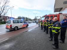 Ook politie staakt vandaag: agenten rijden in colonne vanuit Breda om te protesteren