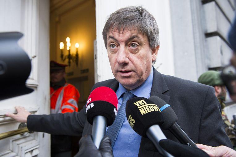 Jambons uitspraak over 'dansende moslims' na de aanslagen in Brussel is bij de moslimagenten van de federale politie niet in goede aarde gevallen.