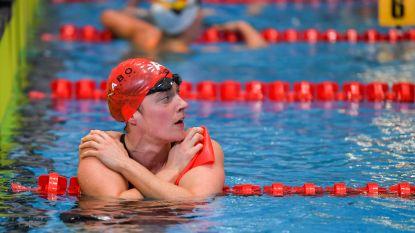 Kimberly Buys strandt in reeksen 100m vlinderslag WK