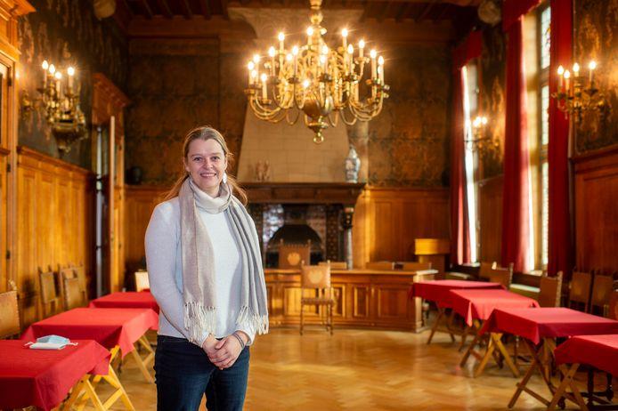 Schepen Leen Wouters wordt in september burgemeester van Wijnegem. Ze is daarmee meteen ook de eerste vrouwelijke burgemeester van de gemeente.