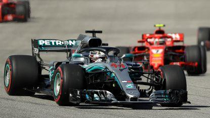 Vandoorne schuift op naar plek 11 - Hamilton moet nog even wachten op vijfde titel, Räikkönen viert in VS