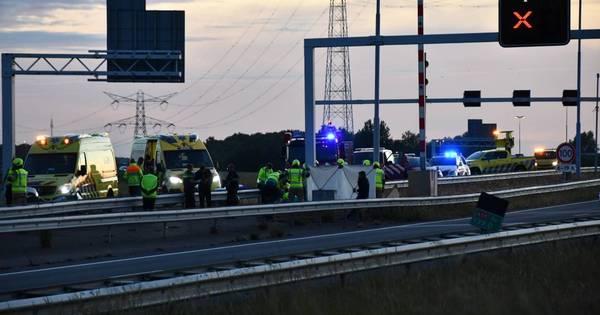 Ernstig ongeval ter hoogte van Yerseke, deel A58 afgesloten.