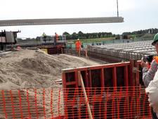 De allereerste brug in de nieuwe N18 bij Groenlo