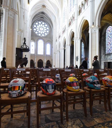 Autosportwereld neemt in Chartres afscheid van Hubert
