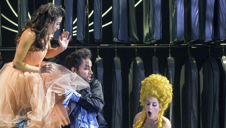 Il matrimonio segreto, een co-productie van Opera Zuid, De Nederlandse Reisopera en De Nationale Opera. Beeld Hans van den Bogaard