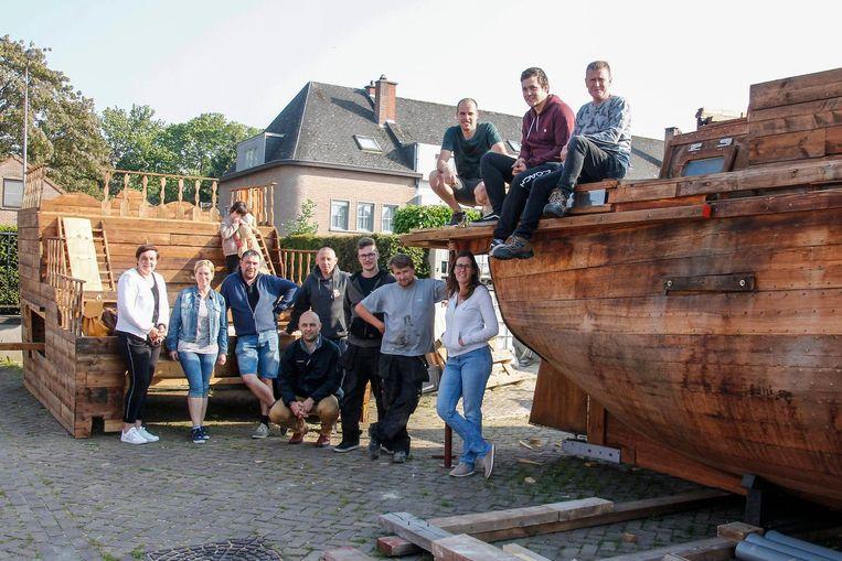 Dit jaar koos het Zeelse Roparunteam voor het thema 'Piraten'.