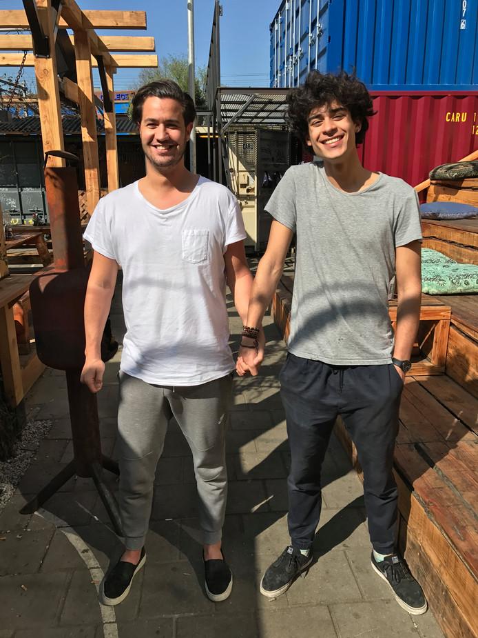 Max uit Amsterdam en Jesse uit Rotterdam