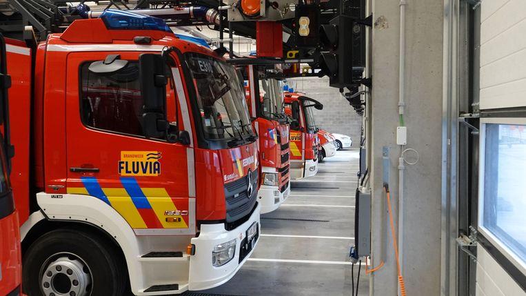 Deerlijk opening nieuwe brandweer kazerne