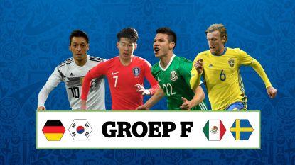 Mannschaft met twijfels, 'Chucky' en Zuid-Koreaanse reus: wat u moet weten over de vier landen in groep F