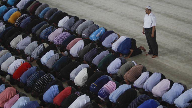 Een netwerk van tientallen islamofobe organisaties en websites wakkert haat tegen moslims in de VS aan, stelt de Council on American-Islamic Relations (Cair) in een rapport. Foto ter illustratie Beeld ap