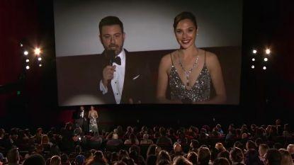 Jimmy Kimmel en zijn collectief aan filmsterren verrassen bioscoopgangers tijdens de Oscaruitzending