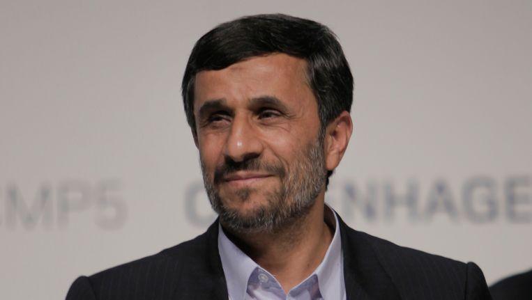 President Ahmedinejad van Iran. Beeld AP