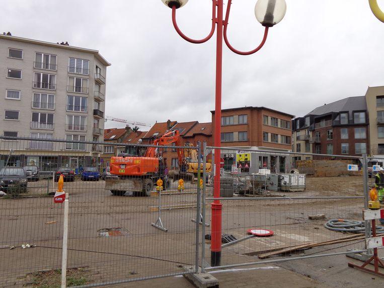 Volgende fase voor Gemeenteplein Strombeek-Bever opbraak, uitgraven