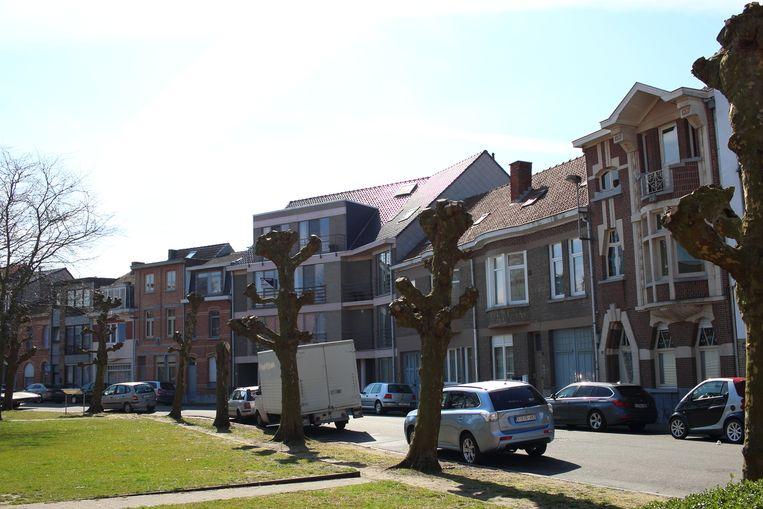 Het Prins Leopoldplein in de Elisabethwijk, die in één keer een opknapbeurt moet krijgen.