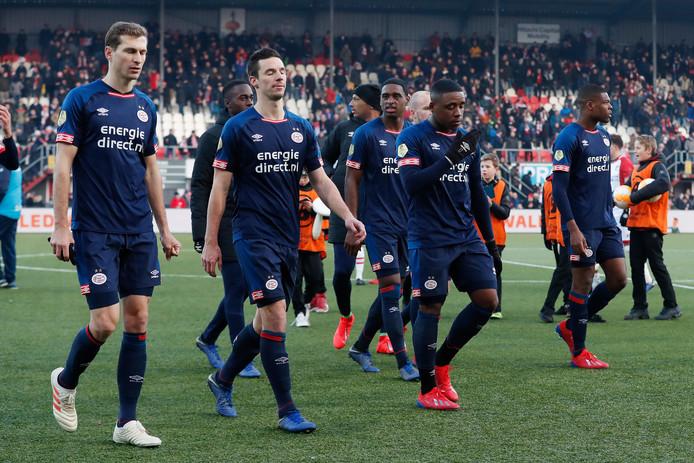 PSV verloor vorig seizoen twee punten in Emmen.
