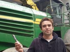 'Agroterreur' in de polder: met een metaaldetector voor het maisoogsten uit