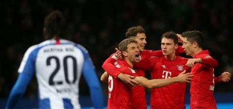 Bayern heeft Zirkzee niet nodig om Hertha ruim te verslaan