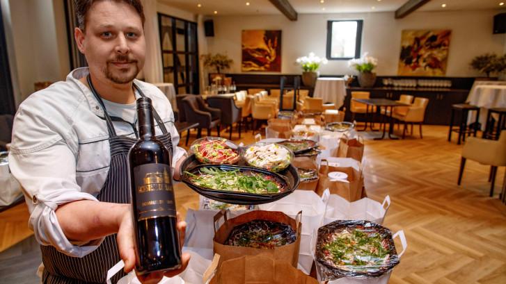 Smakelijke gerechten  van chef Autiero
