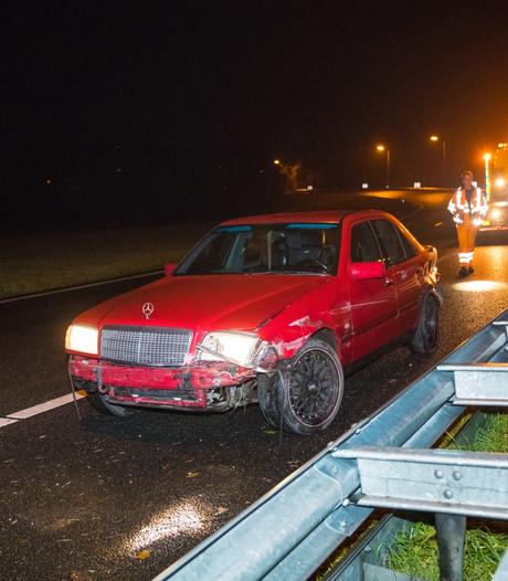 Weer ongeluk in beruchte bocht A28 Hattemerbroek