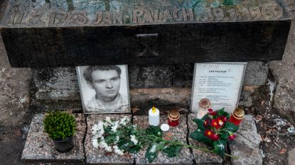 Student Jan Palach stak zichzelf 50 jaar geleden in brand tegen Sovjetbezetting Tsjecho-Slovakije