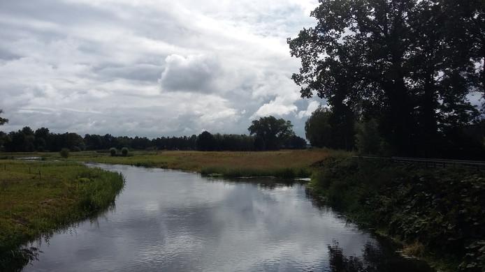 De nieuwe situatie, gezien vanaf de brug bij Seldensate in Middelrode.