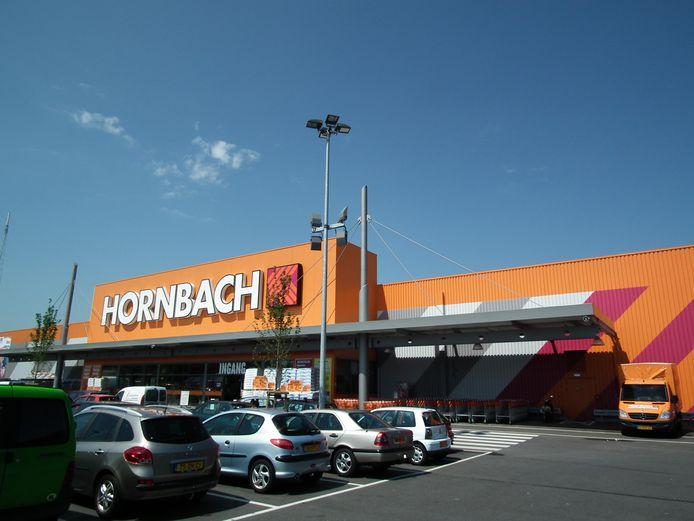 Een vestiging van Hornbach in Breda. @BN/De Stem