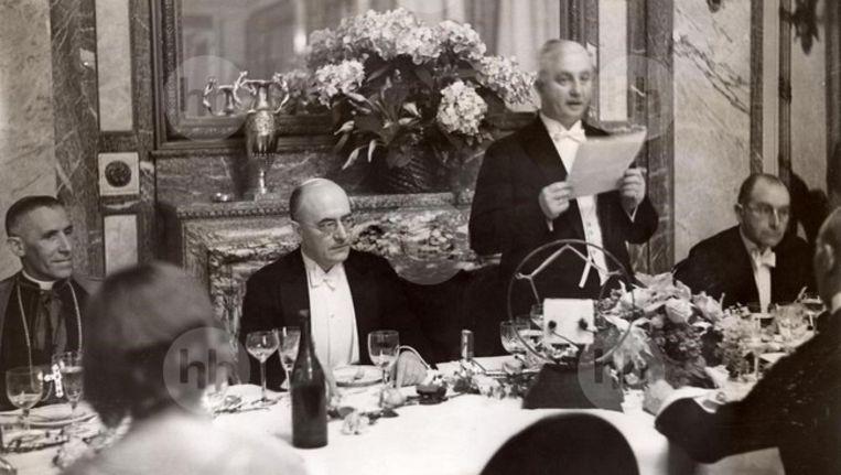 NSB'er Max Blokzijl voor het begin van de Tweede Wereldoorlog. Beeld HH