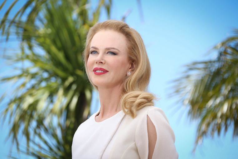 Nicole Kidman bij het Cannes Film Festival in 2014. Beeld EPA