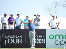 Golfer Luiten deelt koppositie Oman Open met zes anderen