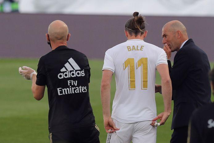 Zinedine Zidane et Gareth Bale