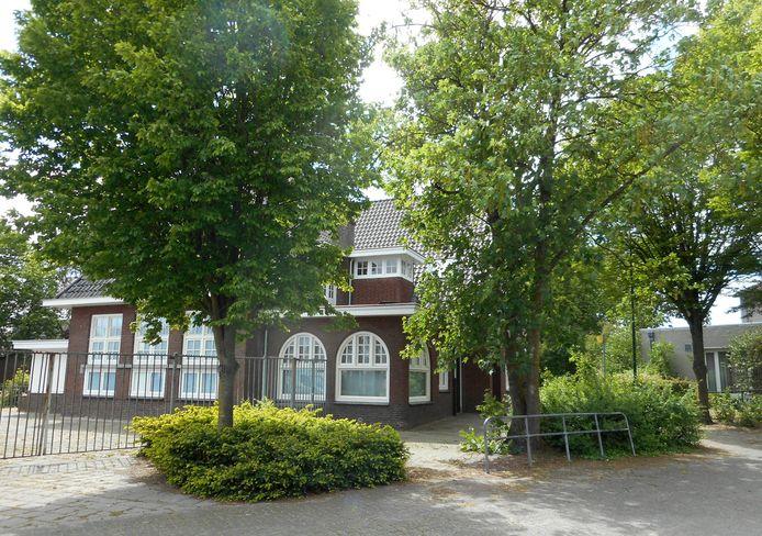 Een voorbeeld van het bestaande groen in het centrum van Leende.