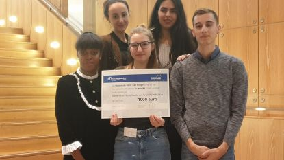 Leerlingen BimSem winnen Generation Euro Students Award
