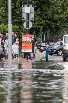 Stortbui trekt over Twente: vooral in Hengelo veel overlast
