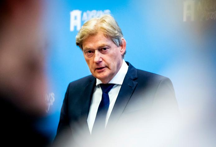 Martin van Rijn is de nieuwe minister van Medische Zorg.