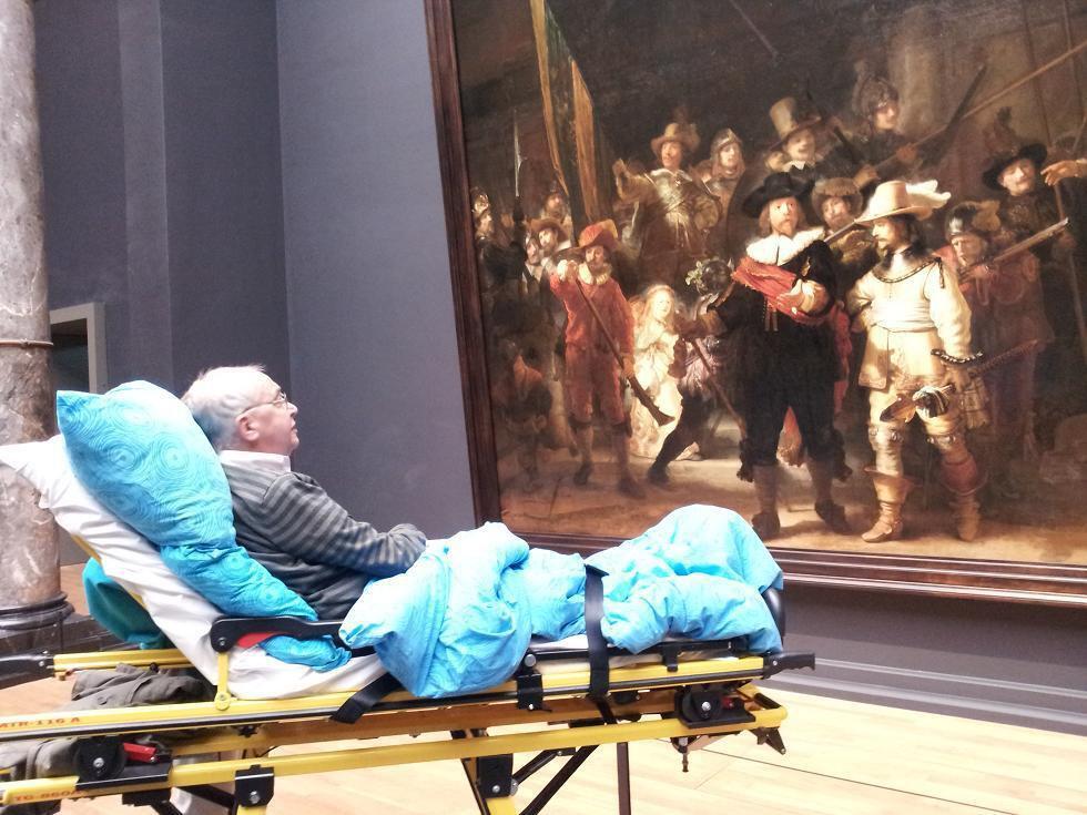 Een laatste blik op De Nachtwacht in het Rijksmuseum