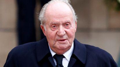 Voormalige Spaanse koning Juan Carlos zou in Abu Dhabi zijn